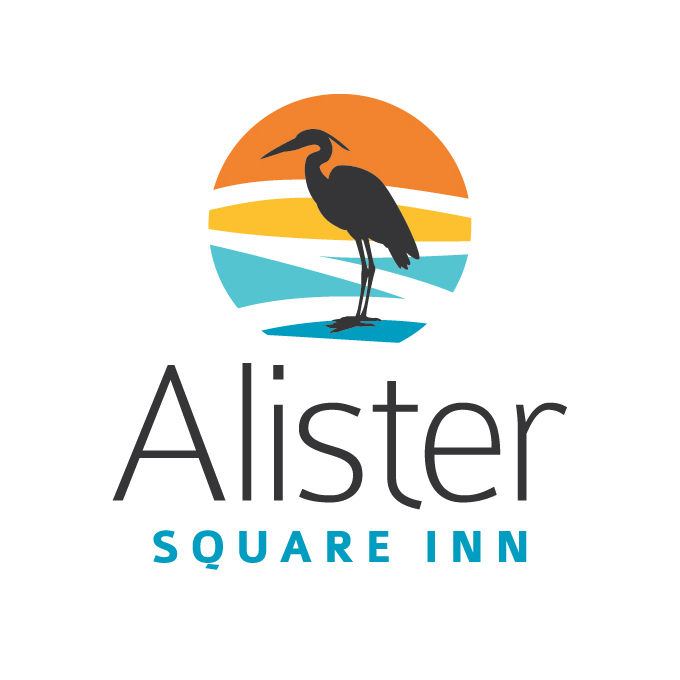 Alister Square Inn logo design