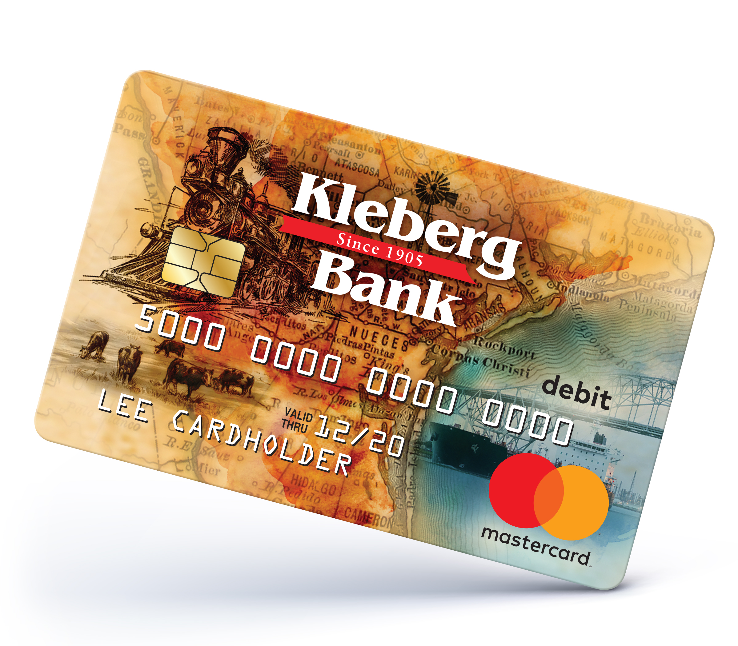 Debit Card Design for Kleberg Bank
