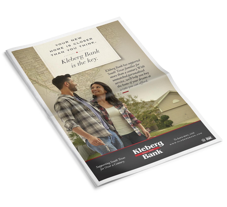 Kleberg Mortgage ad campaign