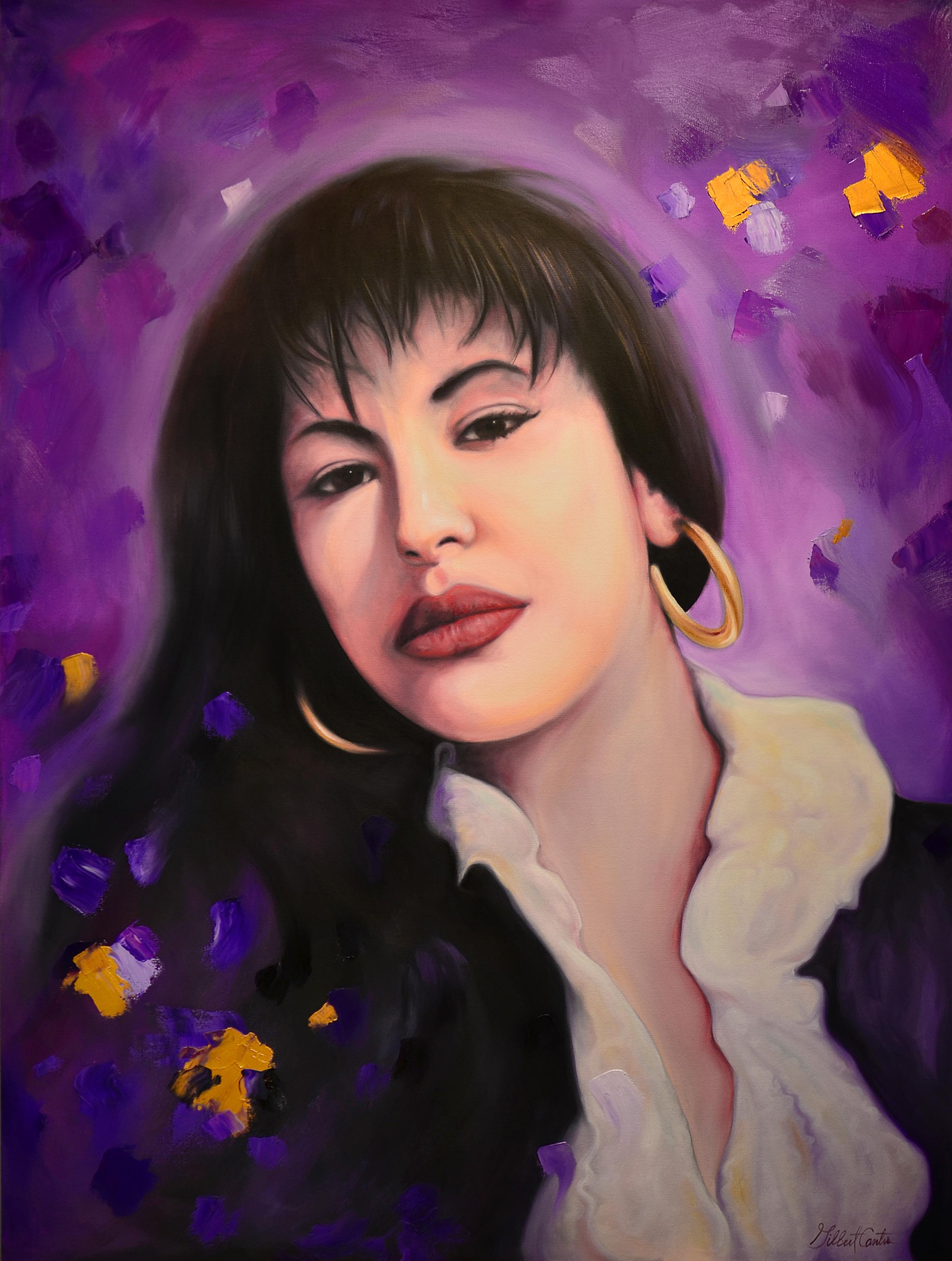 """""""La Reina"""" Selena by gilbert cantu"""