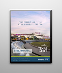 Texas Bridge Credit Union Print