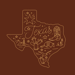 Texas T-shirt design