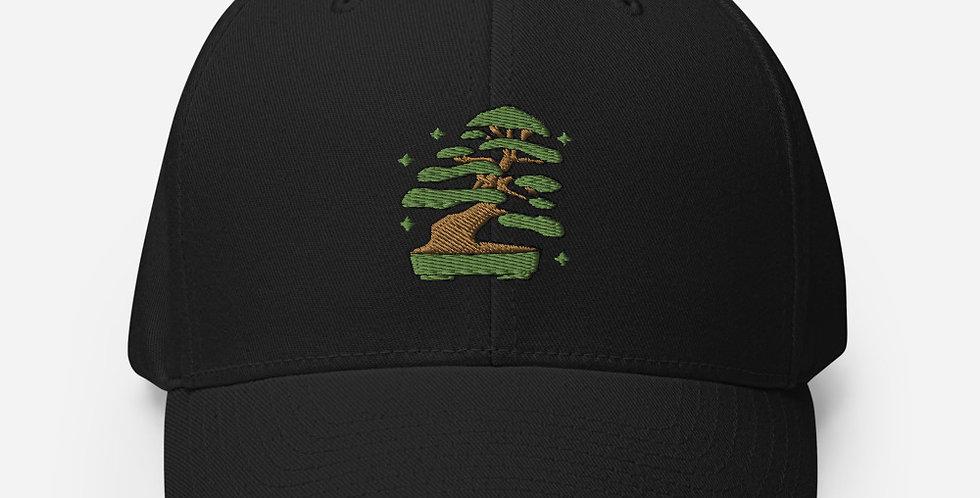 Little Jade Bonsai Logo Flexfit structured cap