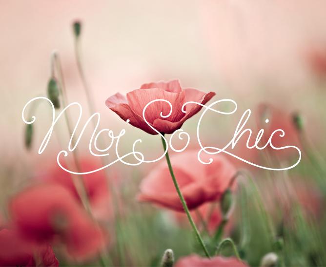MoiSoChic Logo Design