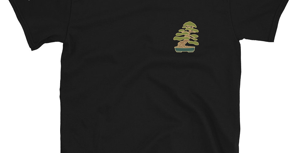 Little Jade Bonsai Logo Tree Short-Sleeve Unisex T-Shirt