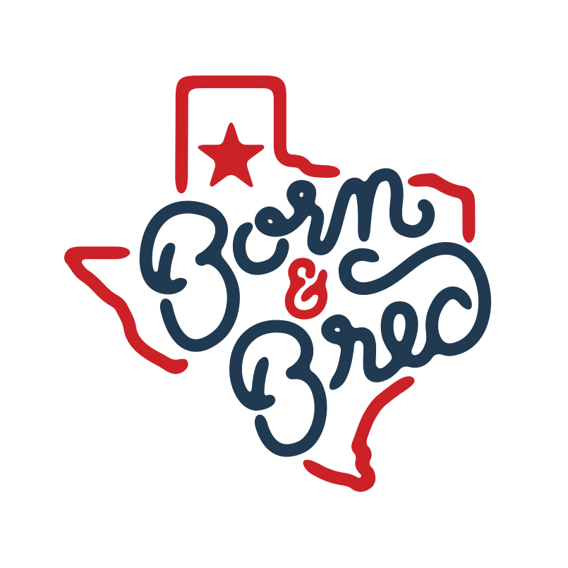 Texas Born and Bred Logo design