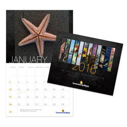 First Community Bank Calendar Design