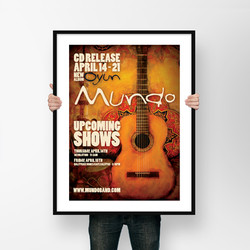 Mundo Poster Design