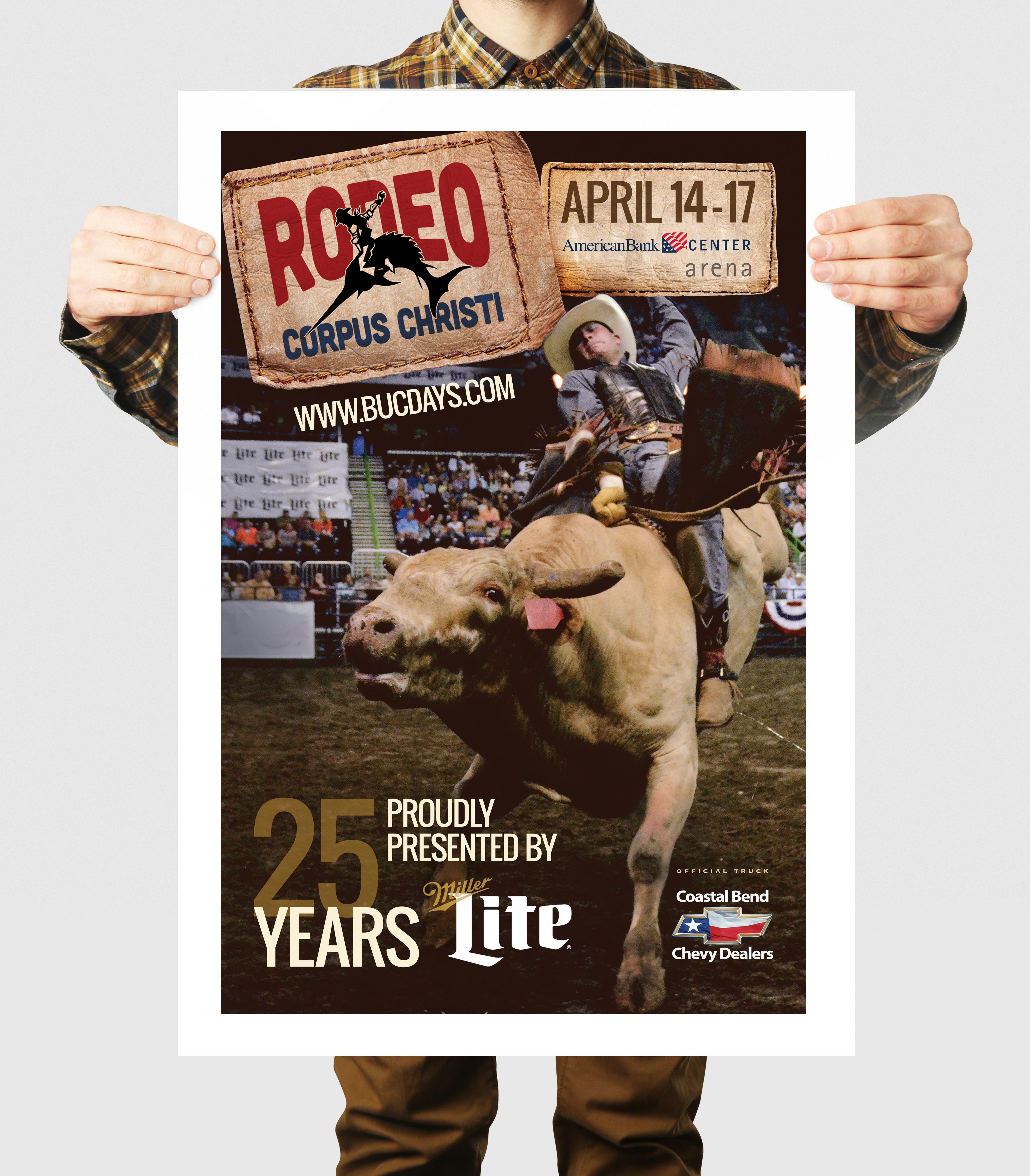 Rodeo Corpus Christi Poster Design