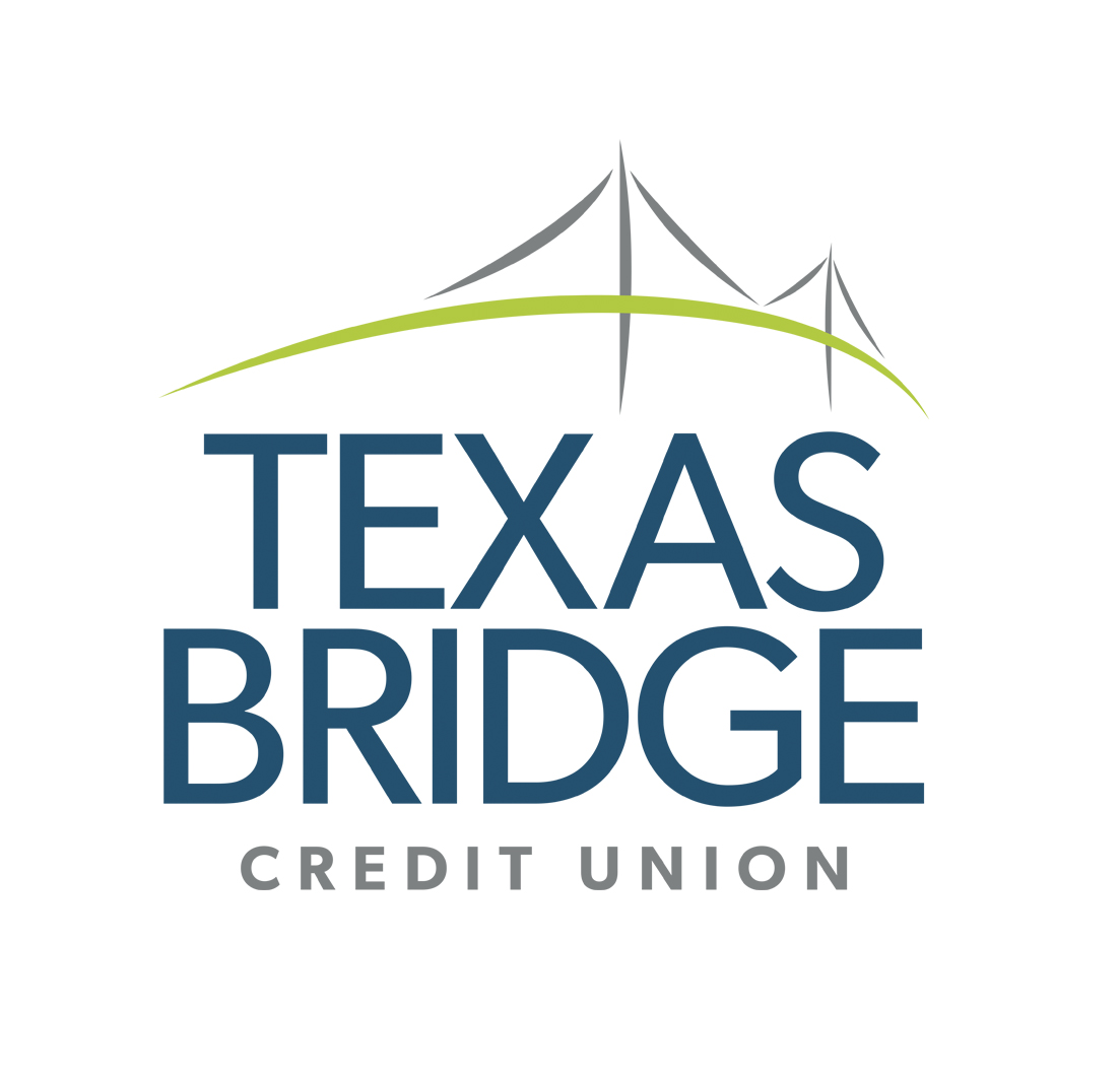 TX Bridge Credit Union logo design