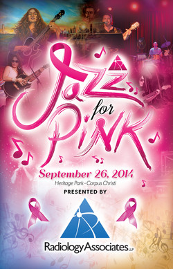 Jazz for pink program and logo