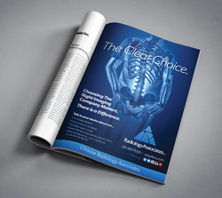 Magazine ad for Radiology Associates