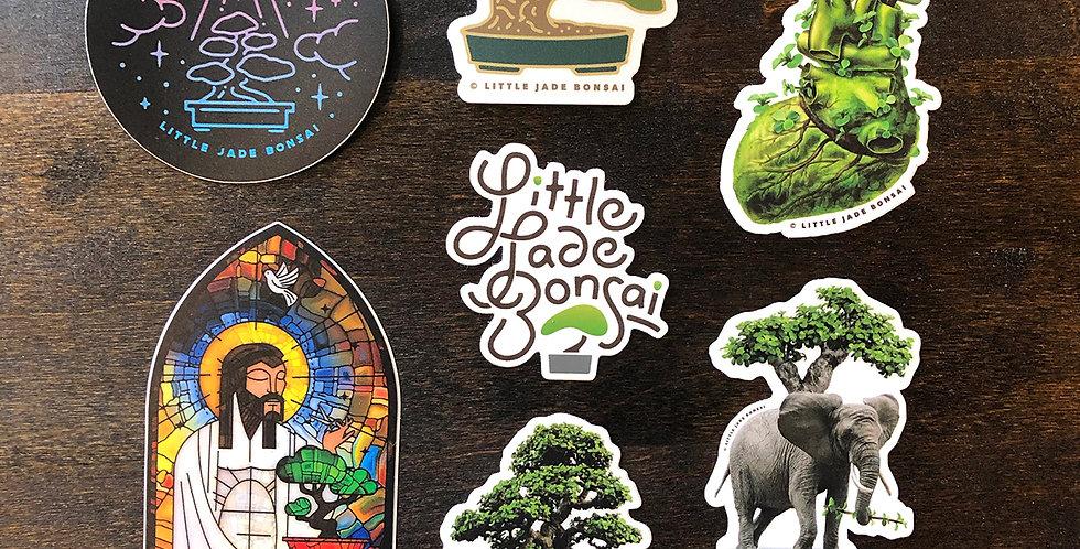 Little Jade Bonsai Sticker Pack