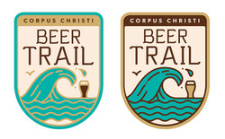 CC Beer Trail logo design