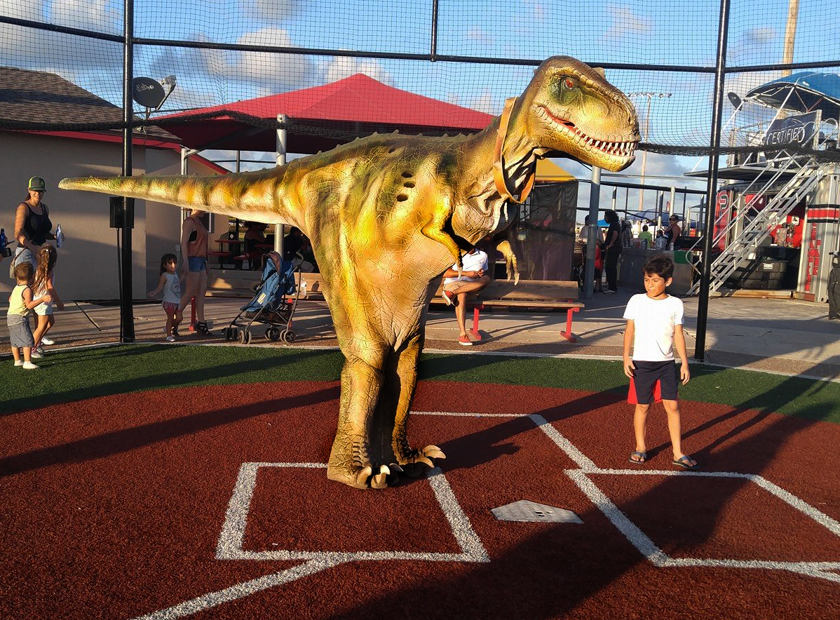 Dinos alive baseball corpus christi