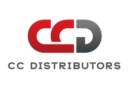 CC Distributors logo design
