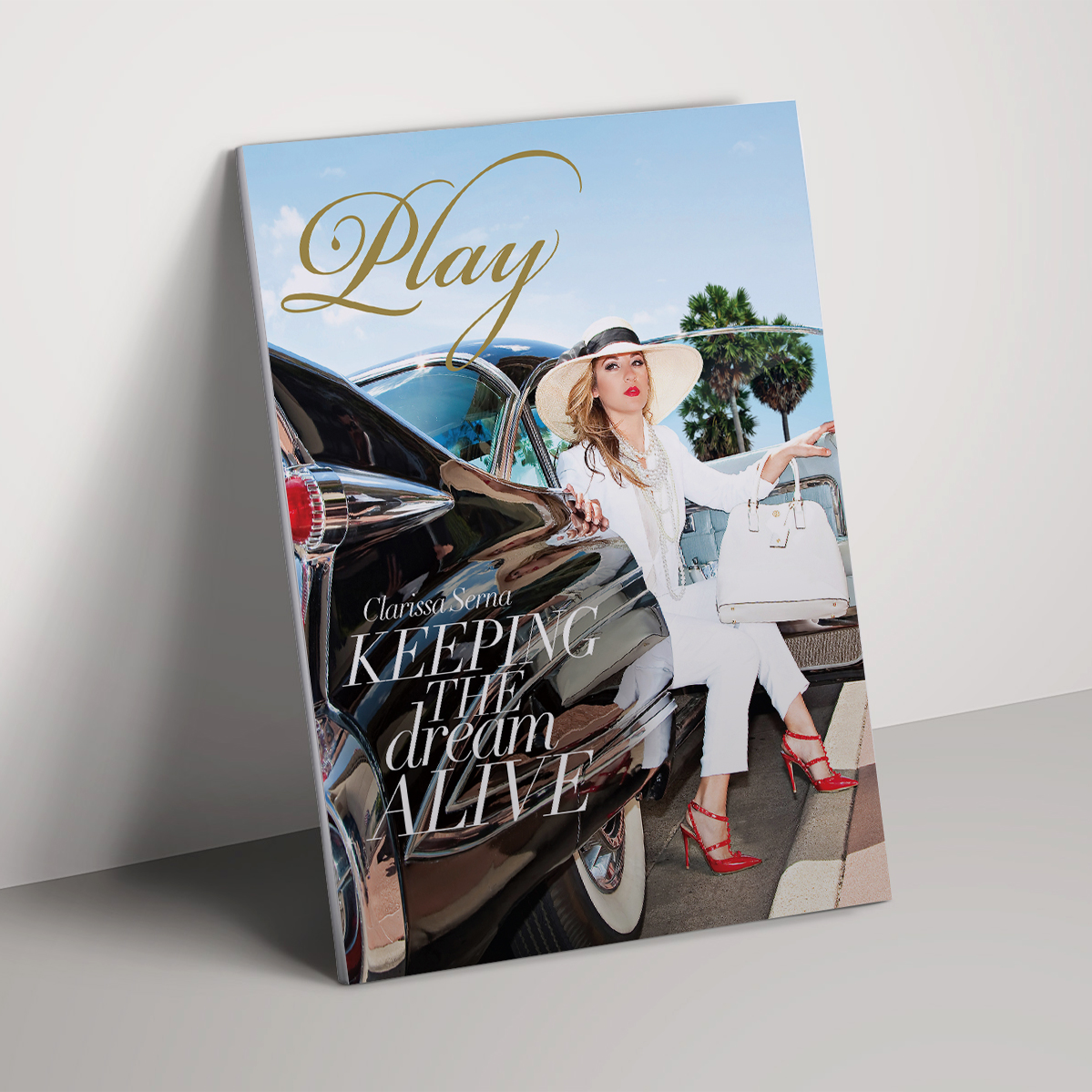 Magazine Design for Play Lifestyle