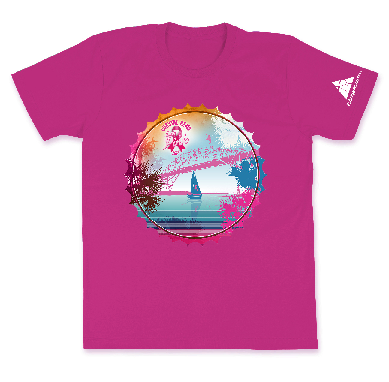 Coastal Bend Day of Pink t-shirt