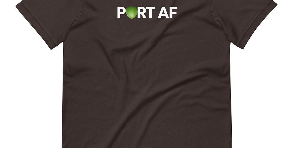 PORT AF! Short-Sleeve Unisex T-Shirt