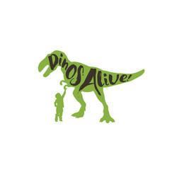 DinosAlive CC Logo Design