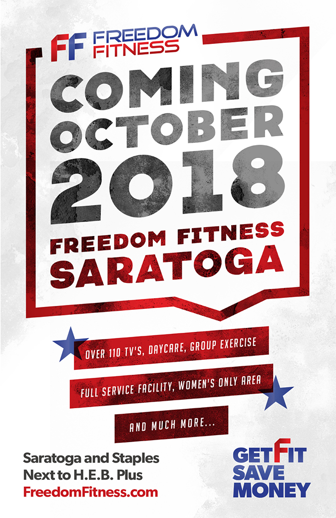 Freedom Fitness Poster Design