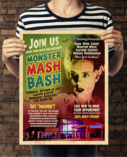 Monster Mash Event Poster