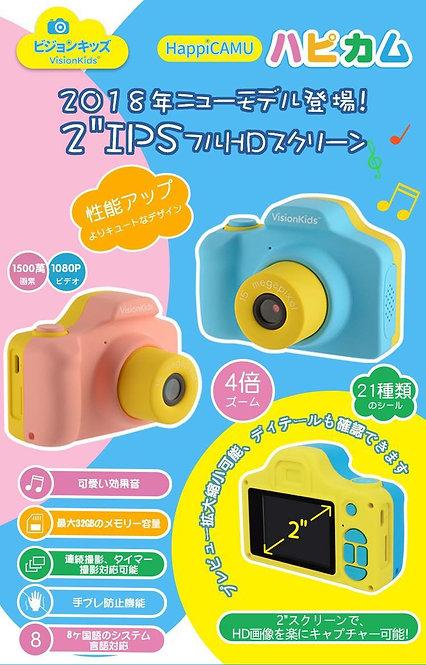 日本vision kids 兒童攝錄相機 HappiCAMU