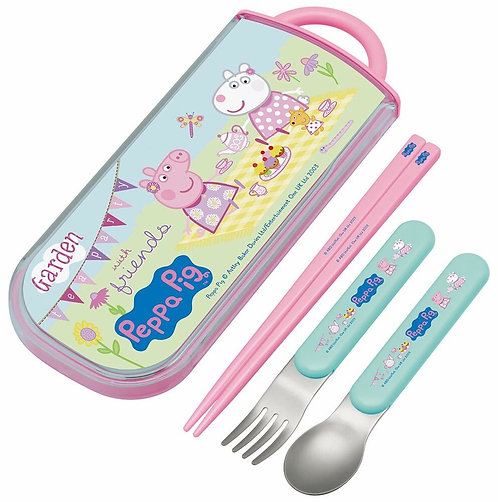 日本製Peppa Pig 兒童餐具套裝