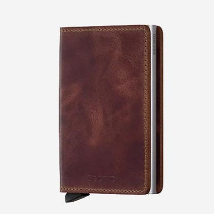 Secrid - Slim Wallet (Vintage Brown)