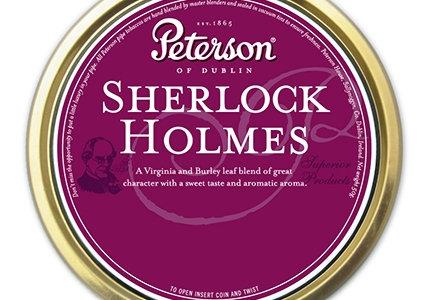 Peterson Pipe Tobacco - Sherlock Holmes (50g Tin)