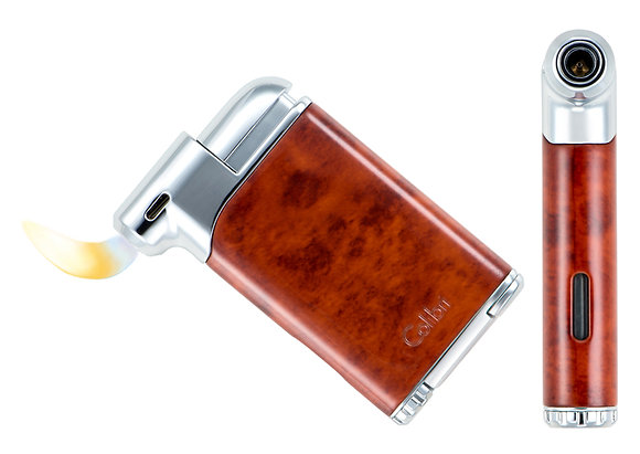 Colibri - Pacific Pipe Lighter (Burl & Black)