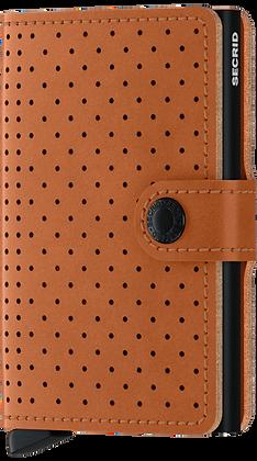 NEW! Secrid - Mini Wallet (Perforated Cognac)