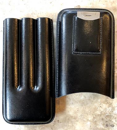 Leather Cigar Case w/ Cutter