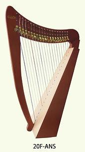 calgary harp lesson rental 20 strings.jp