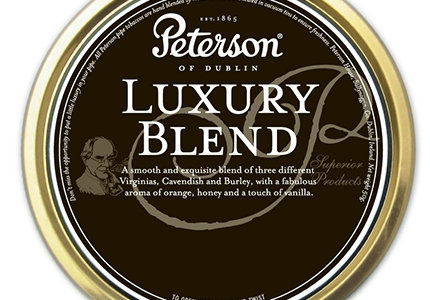 Peterson Pipe Tobacco - Luxury Blend (50g Tin)