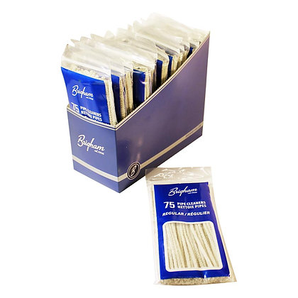 Brigham - Soft Pipe Cleaners (75 Pack)