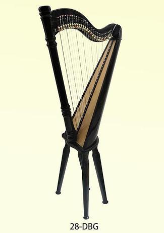 calgary buy harp lesson rental 28 string