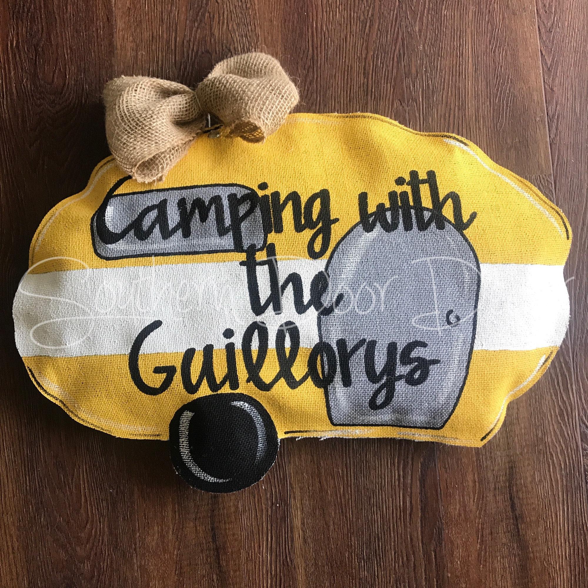 Vintage Camper door hanger