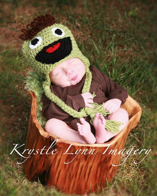Oscar The Grouch aka Joshua Erik (look a