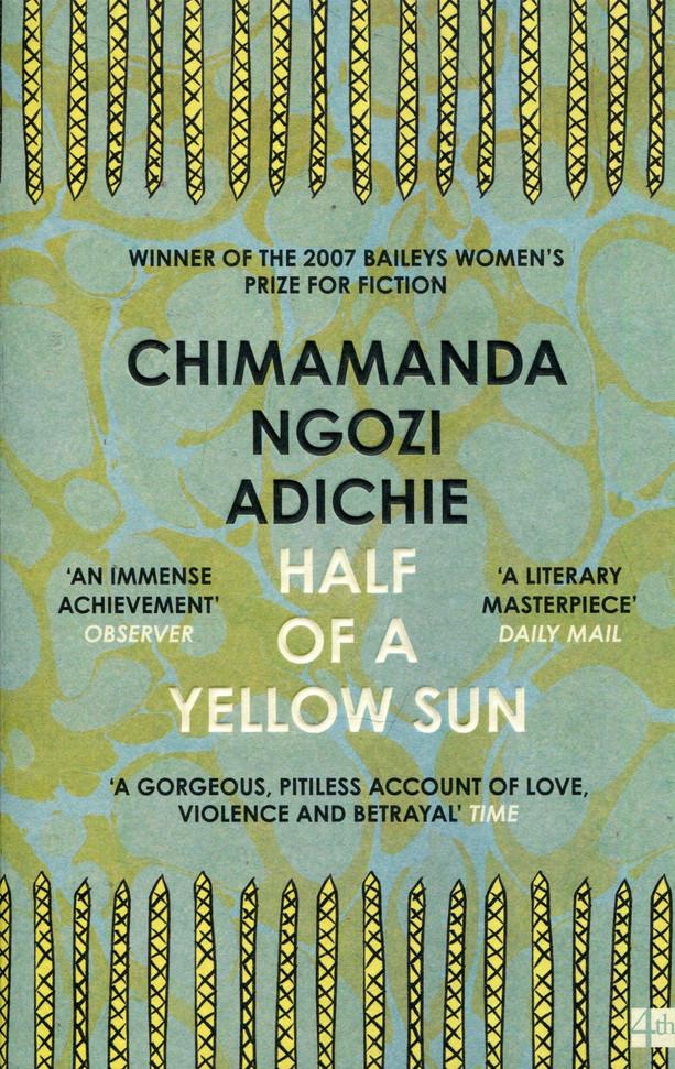 """""""Un livre sur la guerre, l'amour, l'amité… un classique de Chimamanda"""" MAdP"""