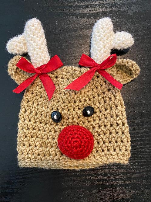 Reindeer Girl Hat