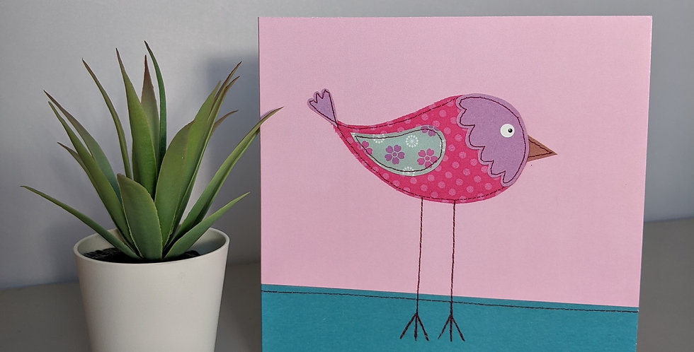'Little Bird' Greetings Card