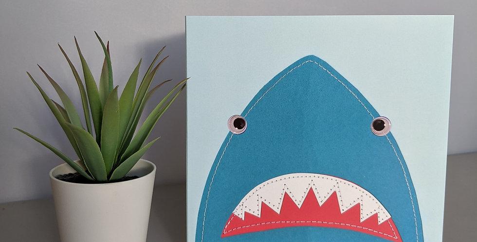 'Shark' Greetings / Birthday Card
