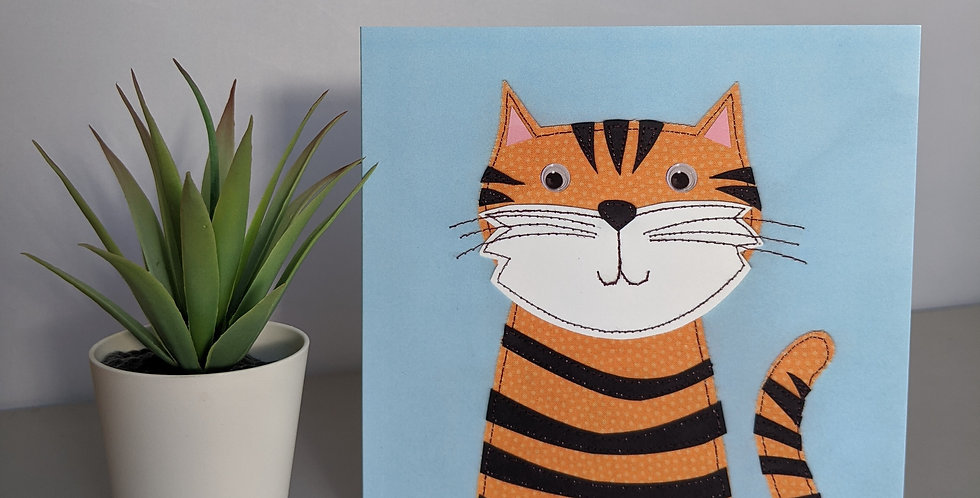 'Tiger' Greetings / Birthday Card