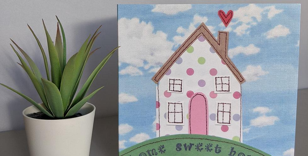 'Home Sweet Home' Greetings Card