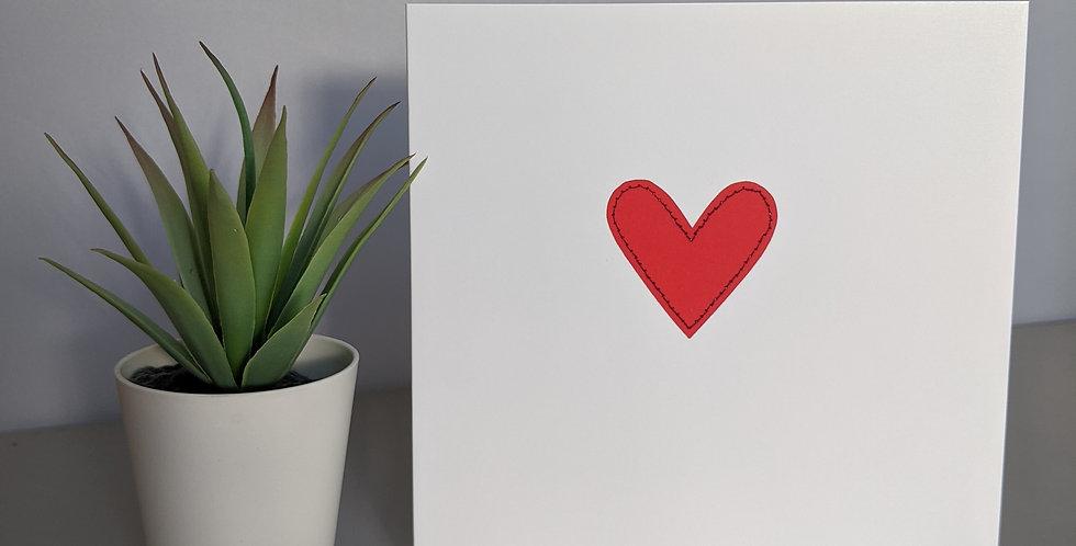 'Little Heart' Greetings Card