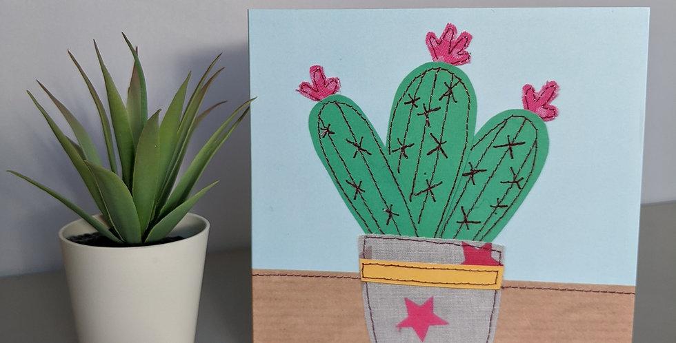 'Cactus' Greetings Card