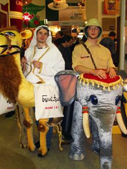 Ростовая кукла Верблюд и Слон