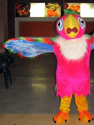 ростовая кукла попугай, ростовых кукол, ростовые куклы,карнавальный костюм, товары для праздника