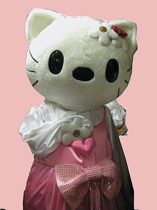 ростовая кукла кот,Ростовая кукла Китти, ростовых куколростовая кукла кот ,ростовая кукла,карнавальный костюм, товары для пра